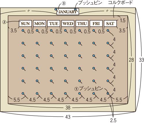 カレンダーボード1